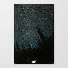 Wallowa Mountain Sky Canvas Print