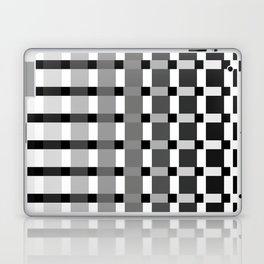 Nine Bar Squared Pulled Inverted Laptop & iPad Skin
