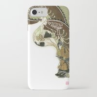 daenerys iPhone & iPod Cases featuring The Serpent Mother by Luis Uzcategui