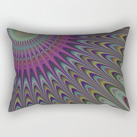 Desert sun Rectangular Pillow