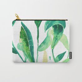 new water color leaves Carry-All Pouch