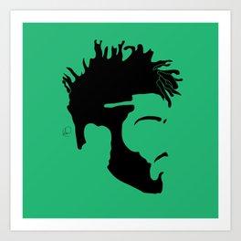 light green Kunstdrucke