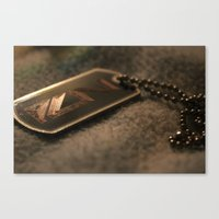 n7 Canvas Prints featuring N7 by Yajaira Gomez