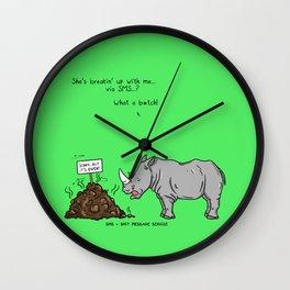 SMS Wall Clock