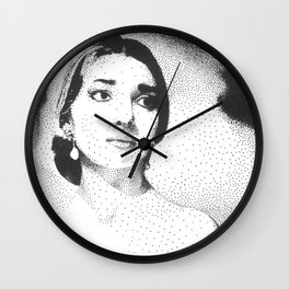 Maria Callas Wall Clock