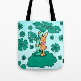 Lucky Bunny Tote Bag