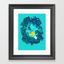 Undiscovered Wonder of the Sea Framed Art Print