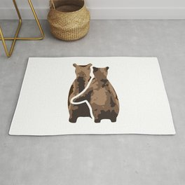 BEAR COUPLE Rug