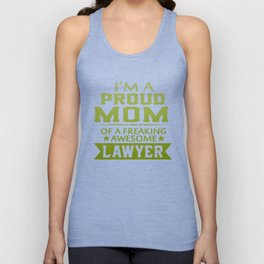 I'M A PROUD LAWYER'S MOM Unisex Tank Top