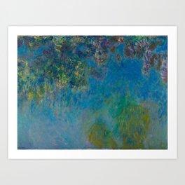 Claude Monet Wisteria Art Print