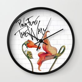Pink Floyd The Wall Wall Clock