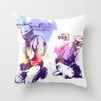 new order Throw Pillows featuring NEW ORDER by Ƃuıuǝddɐɥ-sı-plɹoʍ-ɹǝɥʇouɐ
