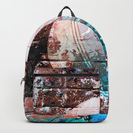 Modern Volleyball Art Backpack