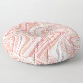 Pink marble Floor Pillow