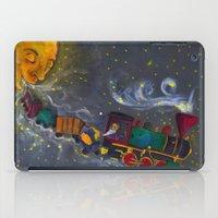 sandman iPad Cases featuring Mr. Sandman by Traci Maturo Illustrations