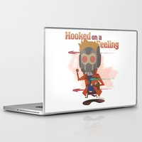 starlord Laptop & iPad Skins featuring STARLORD by Doctor Keros
