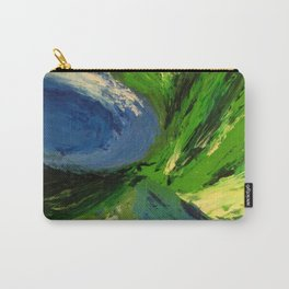 Abstract Maelstrom by Robert S. Lee Carry-All Pouch