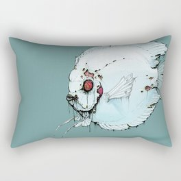 Zombie Discus Rectangular Pillow