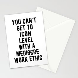 Inspiring - Icon Level Quote Stationery Cards