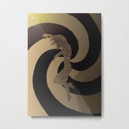 Falling Away Metal Print