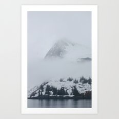 In the mist Art Print