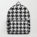 White/Black Houndstooth by luckysgift
