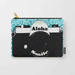 Smile Aloha Carry-All Pouch