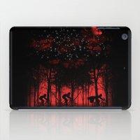 tour de france iPad Cases featuring Tour de l'espace by dan elijah g. fajardo