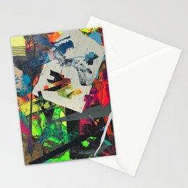 oblique glance Stationery Cards