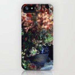 Auguste Renoir - Gladioli In A Vase iPhone Case
