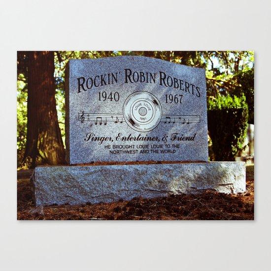 Remembering Rockin' Robin Canvas Print