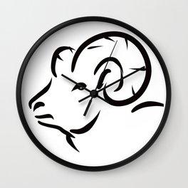 Sheep Wall Clock