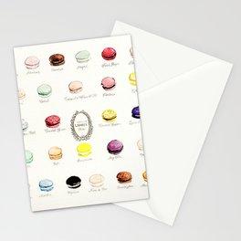 laduree macaron menu Stationery Cards
