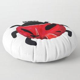Ladybug Floor Pillow