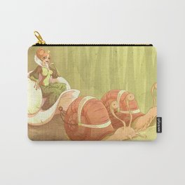 The Snail Princess Carry-All Pouch