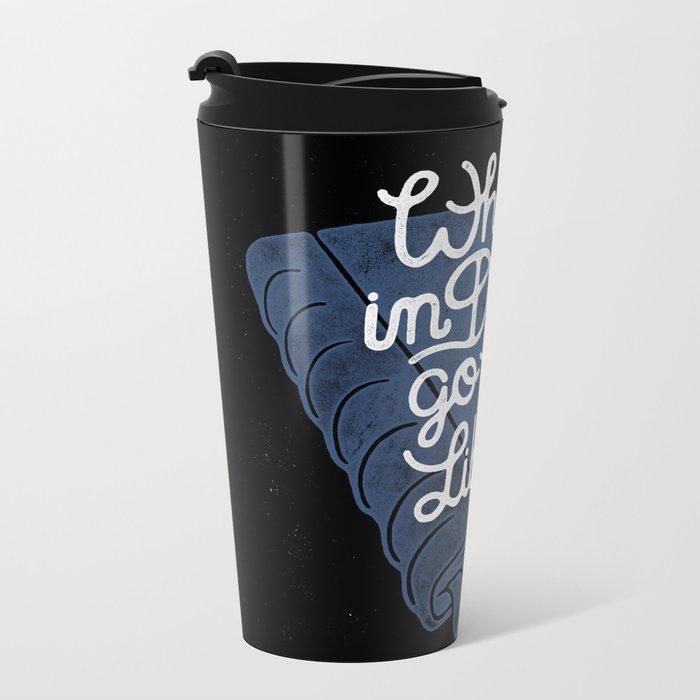 Library Metal Travel Mug