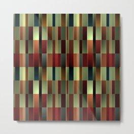 Brandy Wine Pattern Metal Print