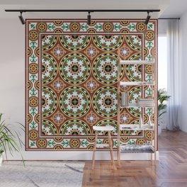 """Caribbean Tile """"Bombonera"""" Wall Mural"""