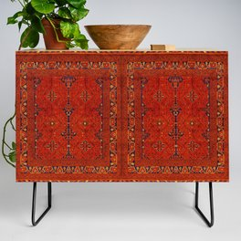 N194 - Red Berber Atlas Oriental Traditional Moroccan Style Credenza