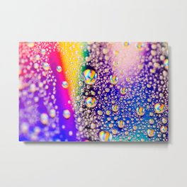 Lisa Frank's Happy Tears Metal Print