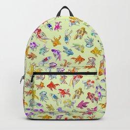 Fish Swimming in Sea Backpack