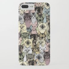 just cats retro iPhone 7 Plus Slim Case