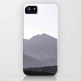 Rocky Mountain Sunset - Colorado Nature Photography iPhone Case