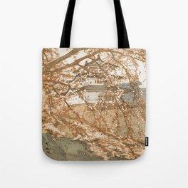 Hirosaki Castle Showa Period Hiroshi Yoshida Modern Japanese Woodblock Print Tote Bag