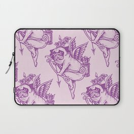 Stupid Pug Cupid Laptop Sleeve