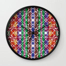 Mariposa Inka Wall Clock