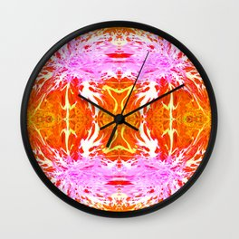 Passions Ignited Wall Clock