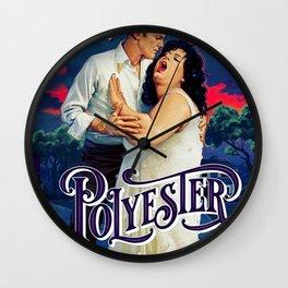Polyester Romance Wall Clock