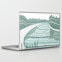 river Laptop & iPad Skins featuring River by Anita Ivancenko
