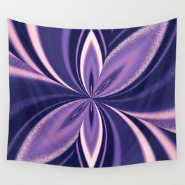 Asexual Spectrum Pride Pinched Petal Ripples Wall Tapestry